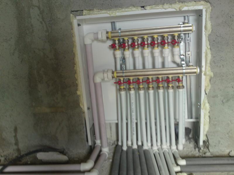 Incalzire radiatoare cu distribuitor 1