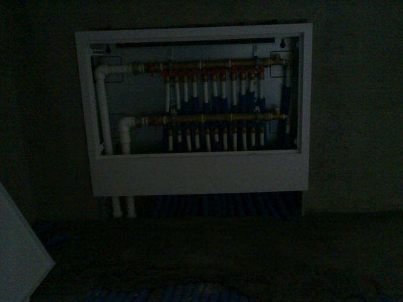 Incalzire radiatoare cu distribuitor 4